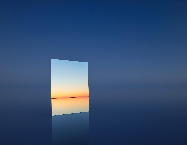 MURRAY FREDERICKS   Mirror 25  2017 Digital pigment print 120 x 155 cm