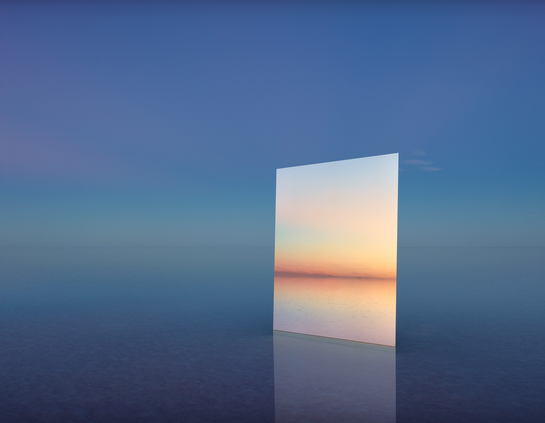 MURRAY FREDERICKS   Mirror 30  2017 Digital pigment print 120 x 155 cm