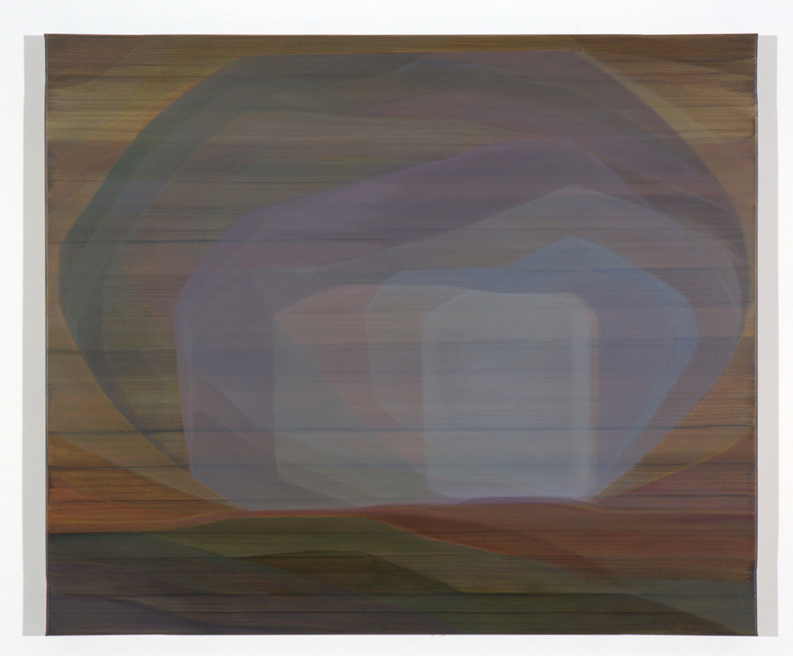 JOHN YOUNG   None Living Knows #2  2017 oil on canvas 86.5 x 102.5 cm