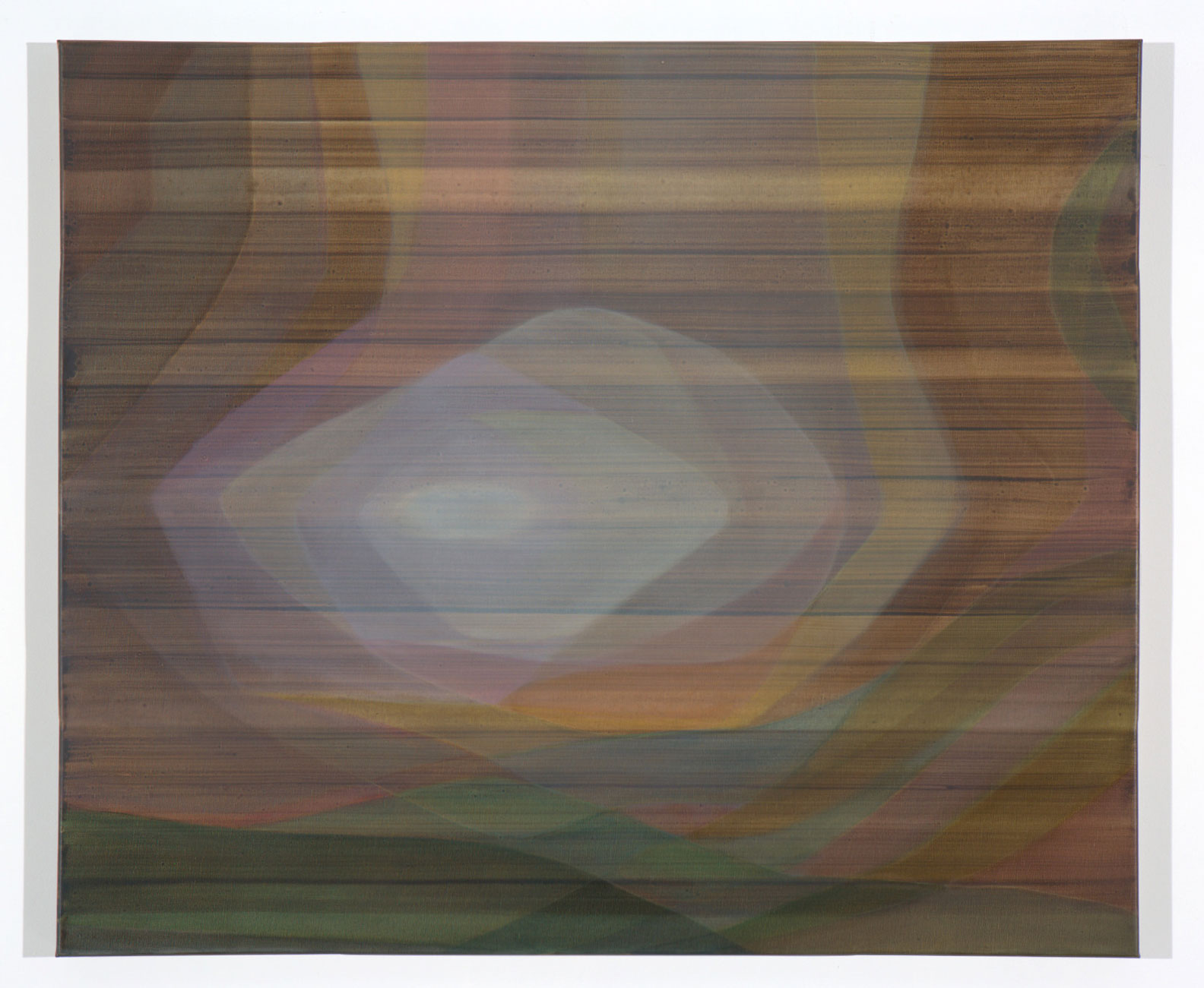 JOHN YOUNG   None Living Knows #3  2017 oil on canvas 86.5 x 102.5 cm