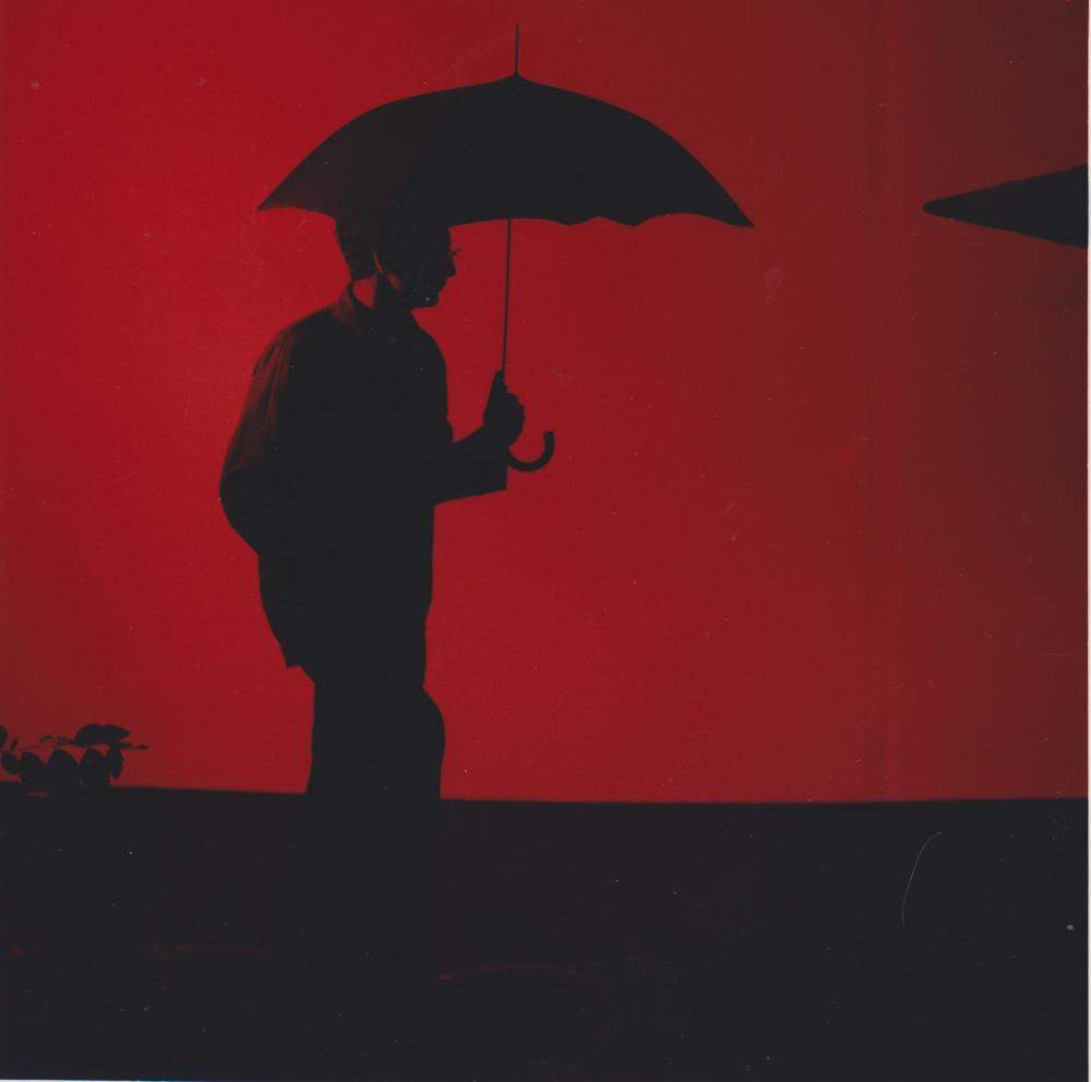 ANNE ZAHALKA   artist #34 (Kendal Heyes)  1989 Duraflex print mounted onto perspex with engraving 85cm x 87cm