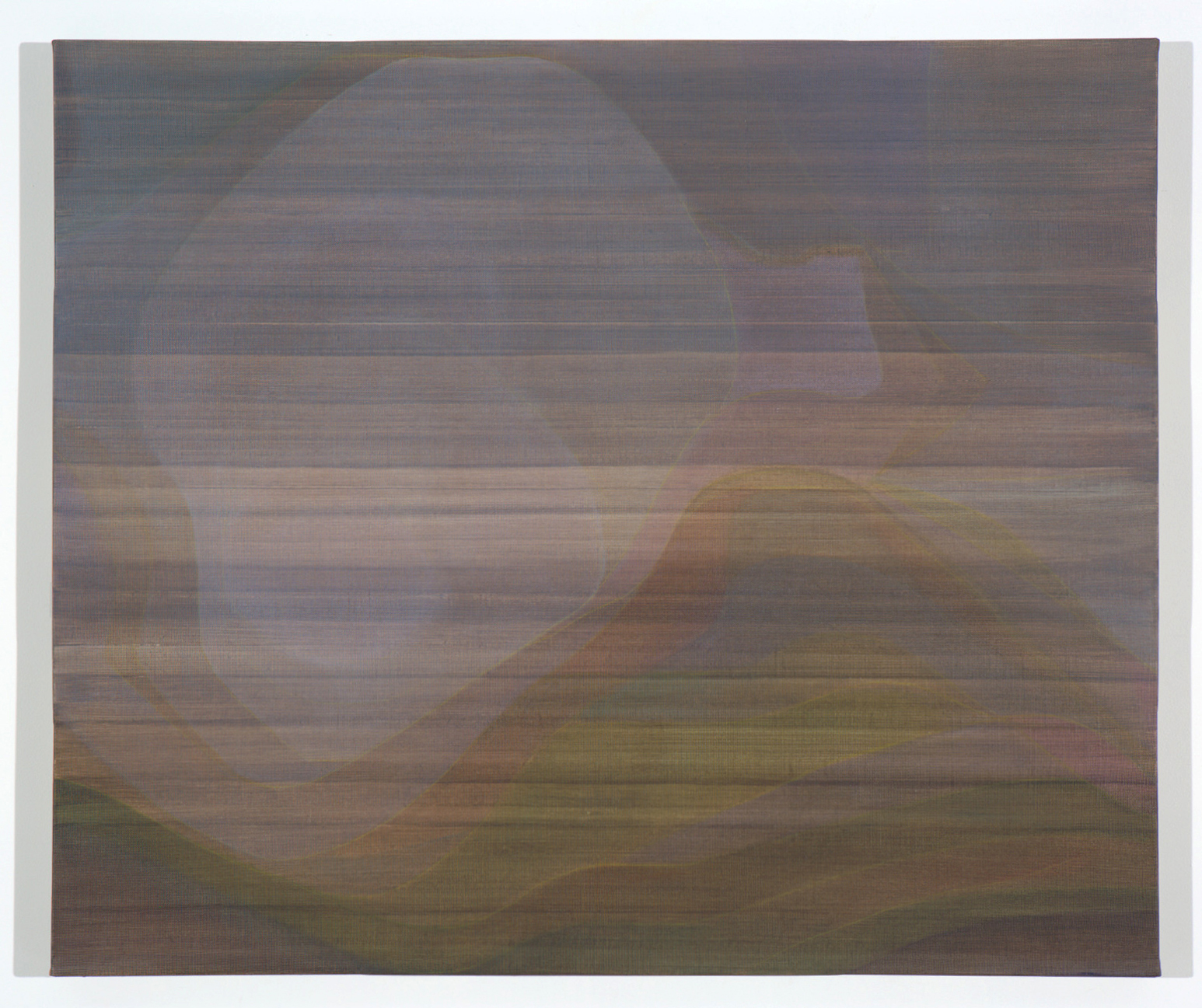 JOHN YOUNG   None Living Knows #1  2017 oil on canvas 86.5 x 102.5 cm