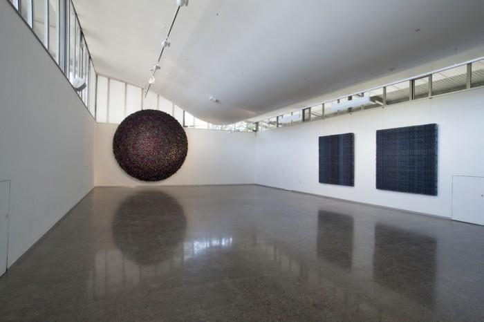 DANI MARTI   Black Sun  Installation View, University Gallery, Newcastle, October 2016