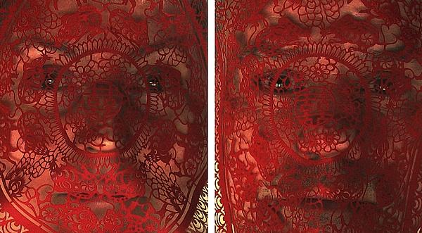 ROSE FARRELL & GEORGE PARKIN   Double Happiness   2006 Digital inkjet on archival cotton rag 51.0 x 93.0 cm