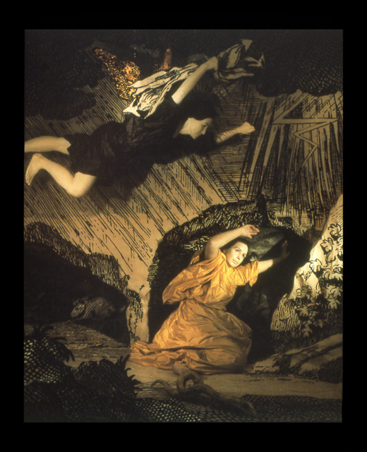 ROSE FARRELL & GEORGE PARKIN   Hour of Wrath  1990 Type C colour print 133 x 117 cm