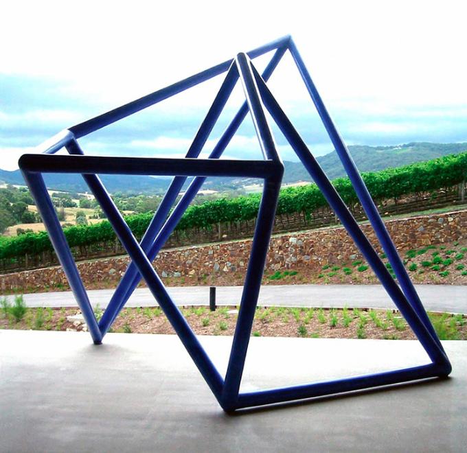 ROBERT OWEN   Vessel #2 (Blue)   1997 - 2003 Foam, Fiberglass and M1 Acrylic 450 x 350 x 300 cm