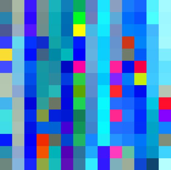 ROBERT OWEN   Flickering Light #3 (Ocean Road)  2004 - 2017 Synthetic polymer paint on Belgium linen 198 x 198 cm