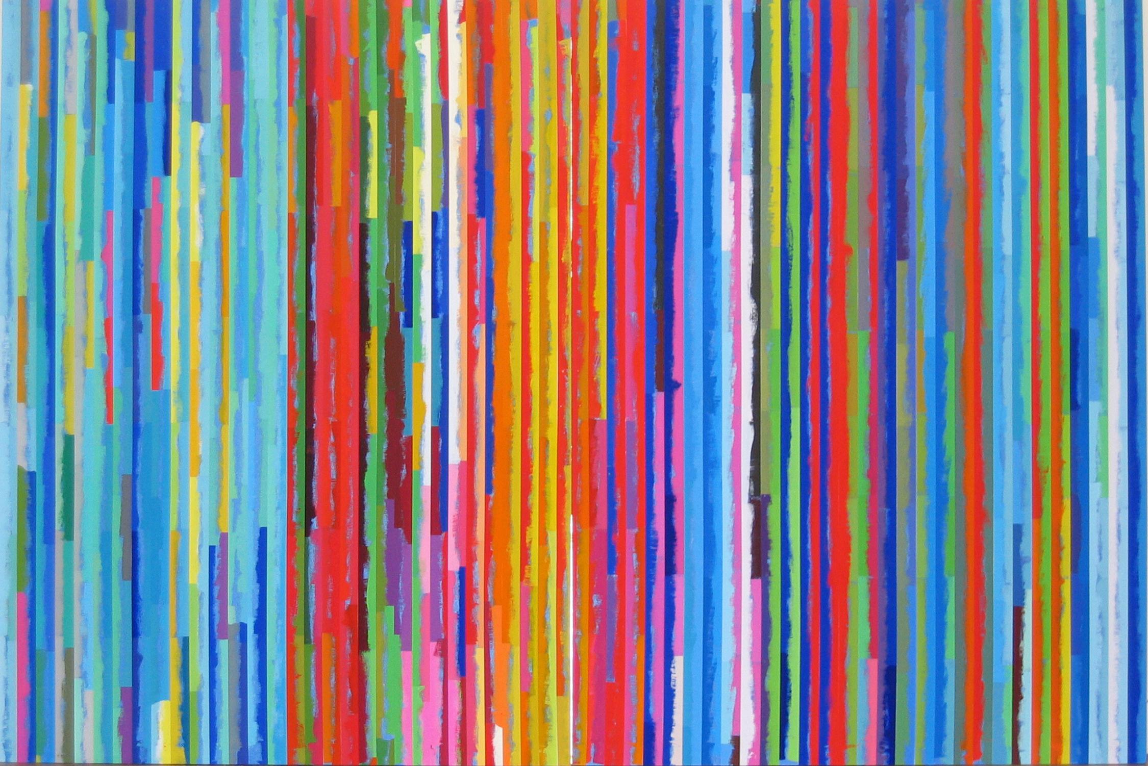 ROBERT OWEN   Spent Light #2  2004 Polymer paint, wood & aluminium  76 x 120 cm