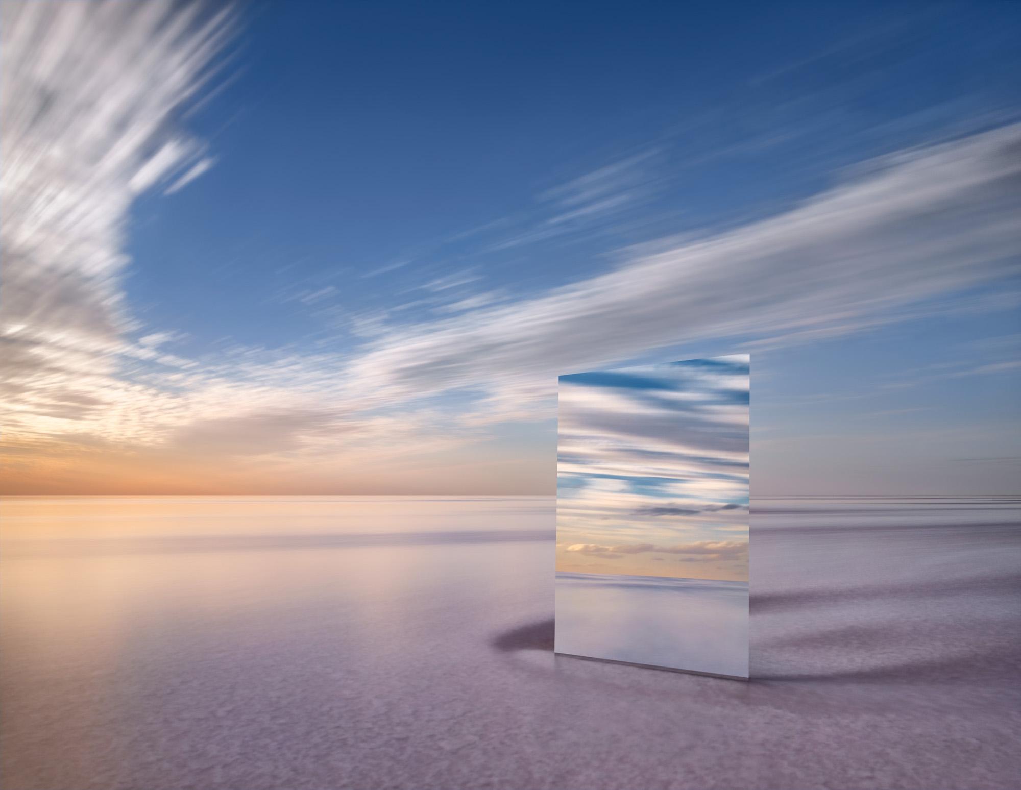 MURRAY FREDERICKS   Mirror 17  2017 Digital pigment print on cotton rag 120 x 155 cm Frame: 144 x 179 cm