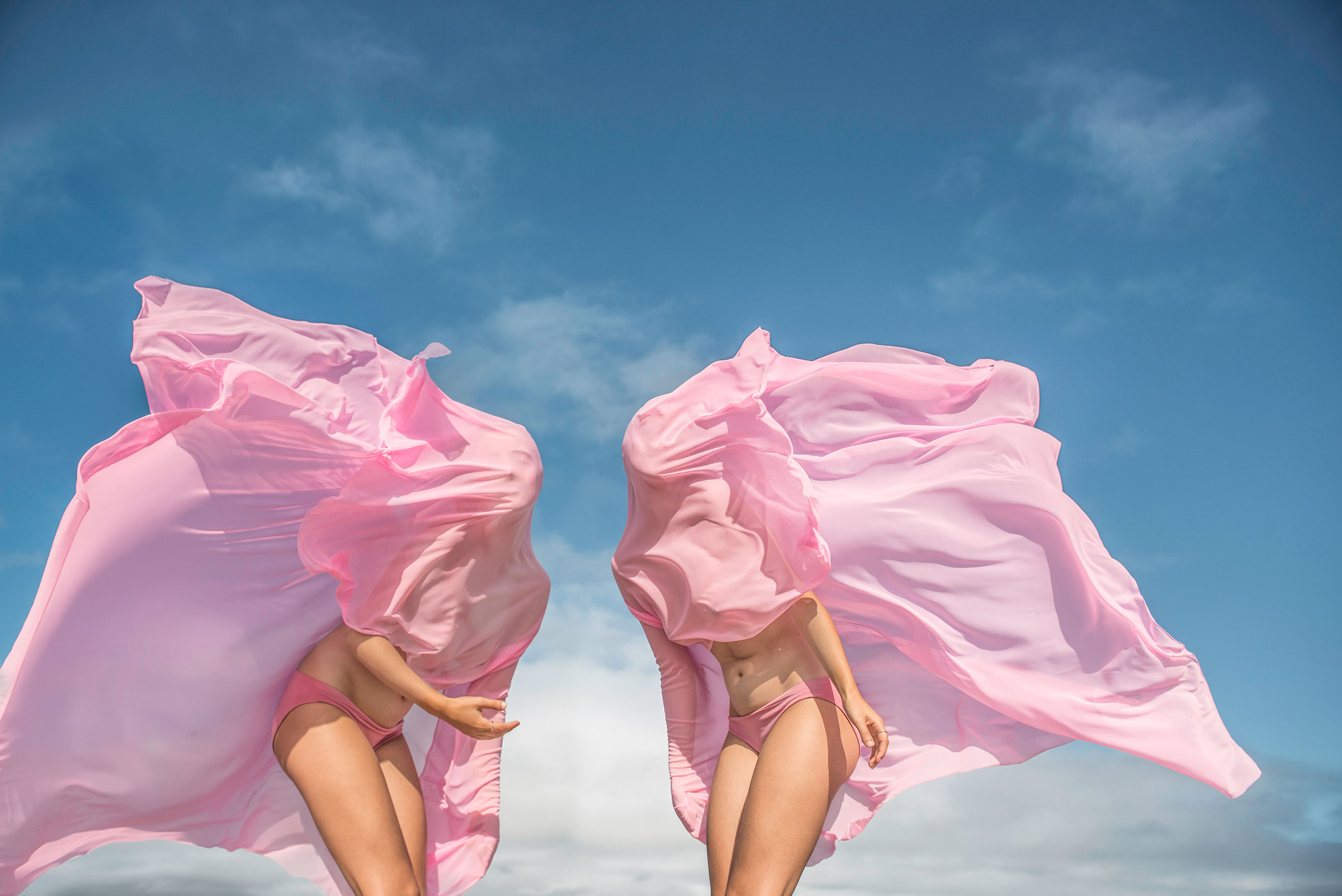 Honey Long & Prue Stent,  Wind Form,  2014, archival pigment print, 159 x 106 cm.