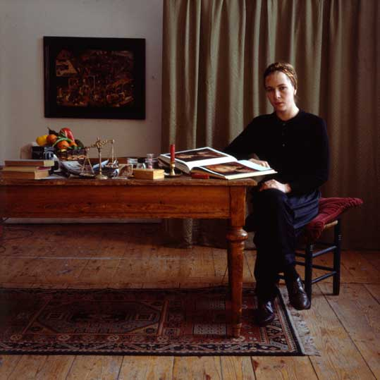 Anne Zahalka,  The Artist (Self-Portrait), Berlin , 1987, cibachrome photograph, 80 x80cm.