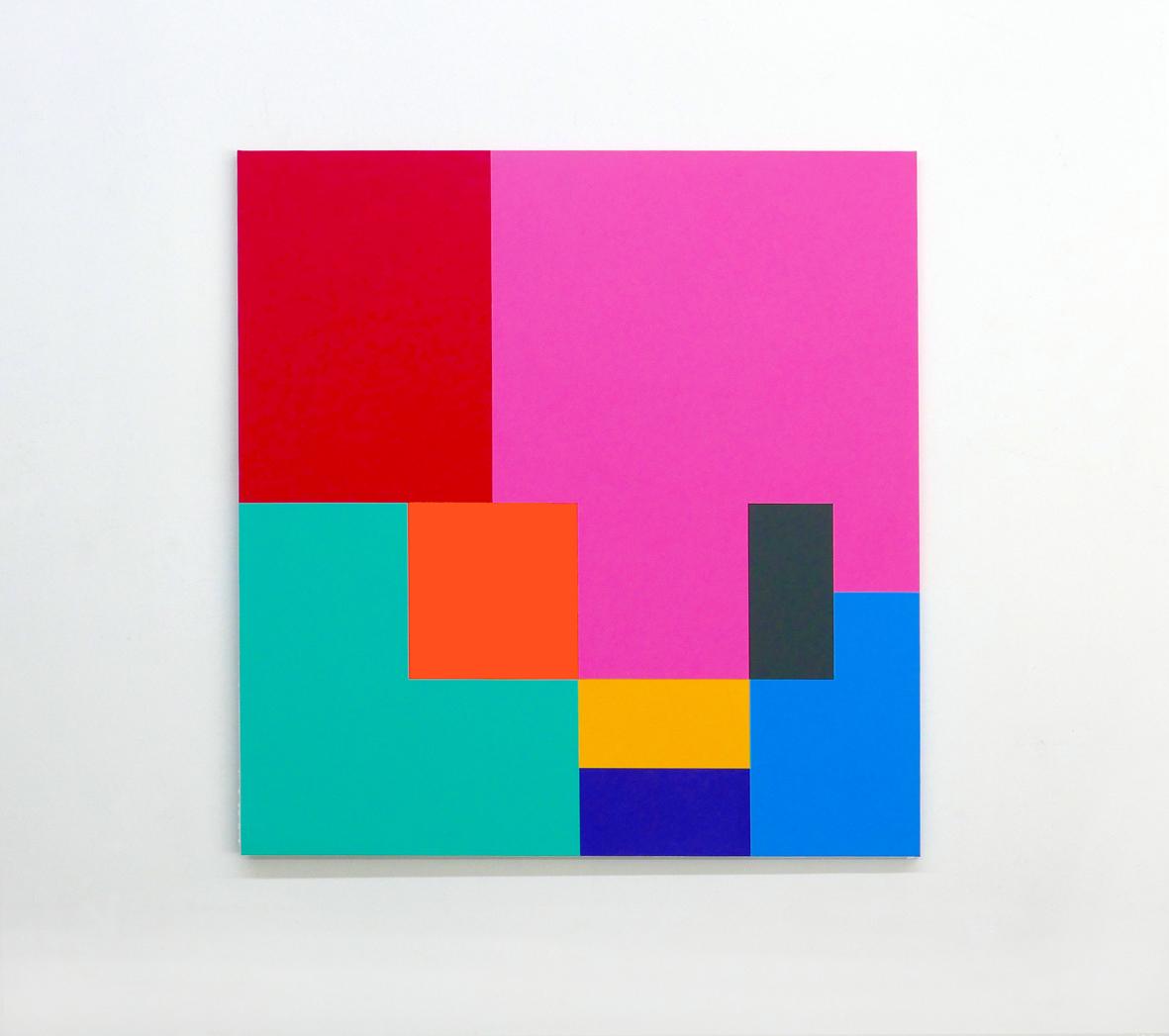 ROBERT OWEN   Proportio #1  2016 Synthetic polymer paint on linen 122 x 122 cm