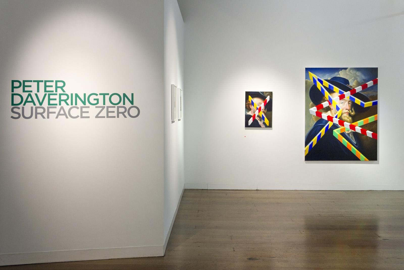 PETER DAVERINGTON   Surface Zero  2018 Install view