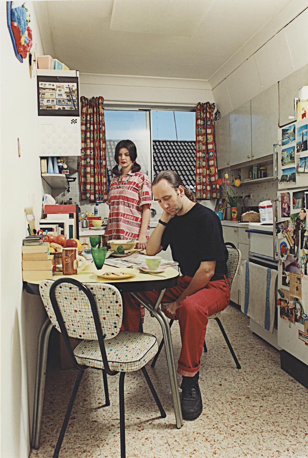 ANNE ZAHALKA   Sunday, 2:48 pm  1995 Duratran and Lightbox 173 x 125 x 25 cm