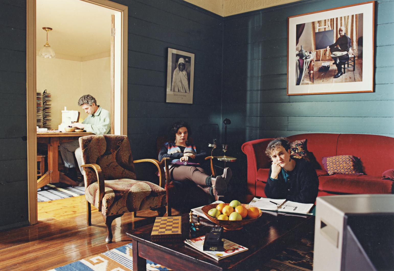 ANNE ZAHALKA   Wednesday, 8:40 pm  1995 Duratran and Lightbox 125 x 190 x 25 cm