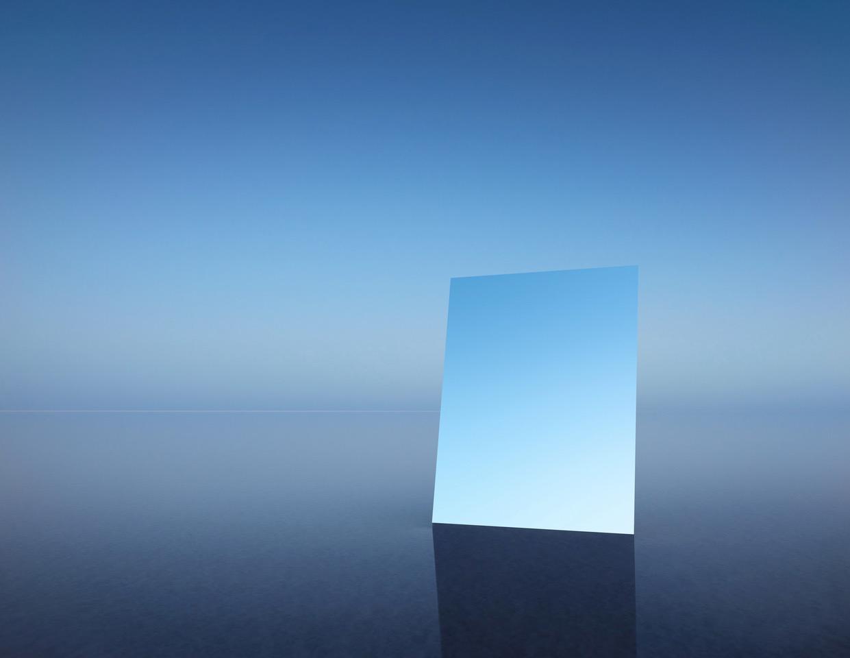 MURRAY FREDERICKS   Mirror 14  2017 Digital pigment print on cotton rag 120 x 155 cm