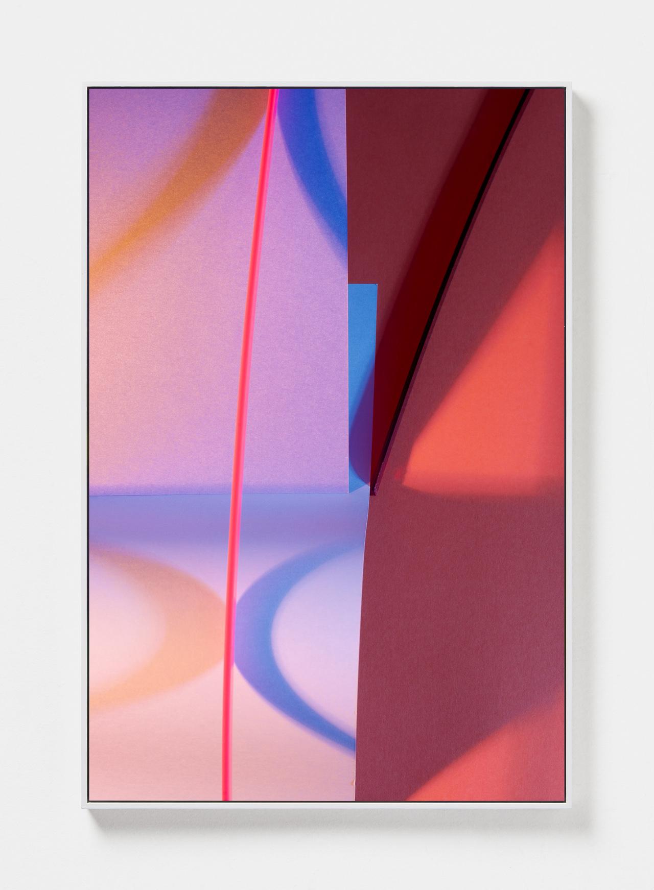 LYDIA WEGNER   Amber Wave  2019 Archival inkjet print, steel frame 120 x 80cm