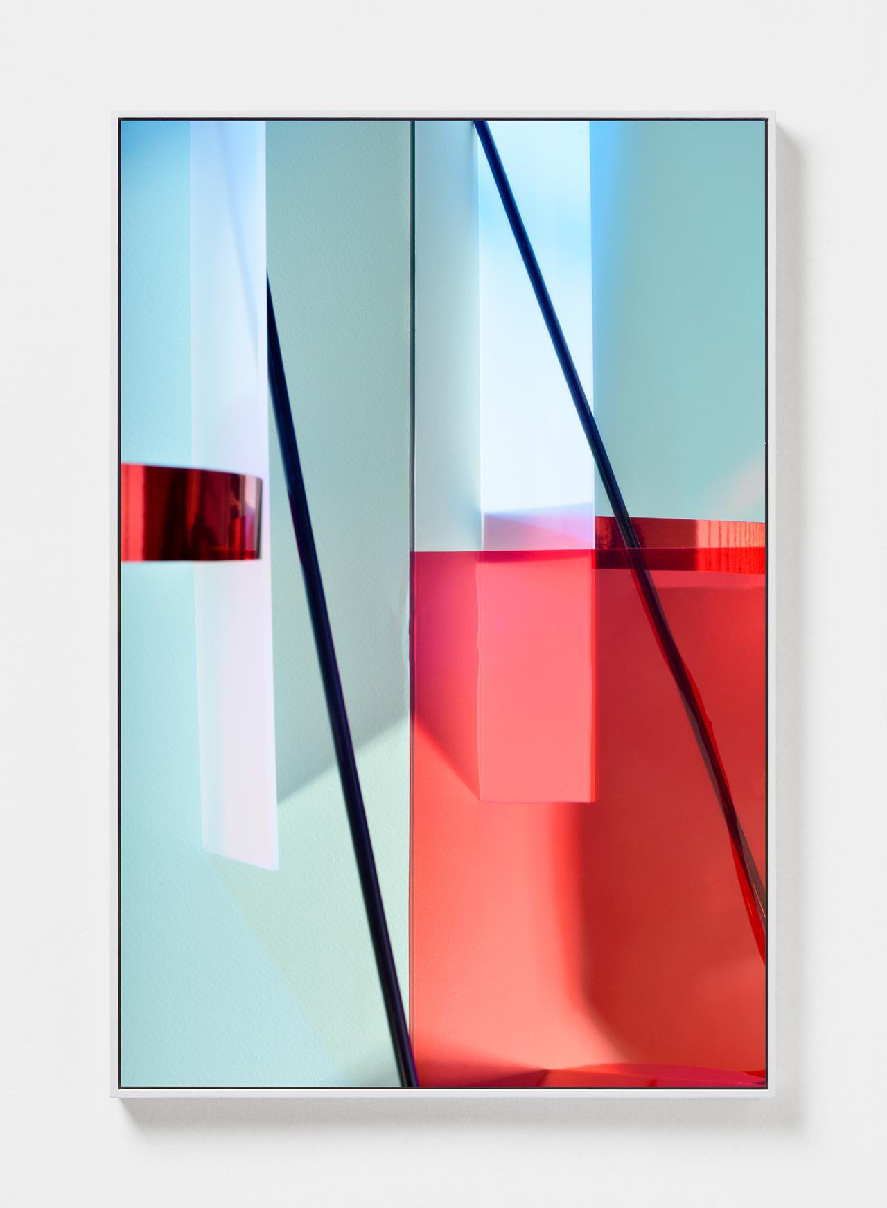 LYDIA WEGNER   Angled Light  2019 Archival inkjet print, steel frame 120 x 80cm