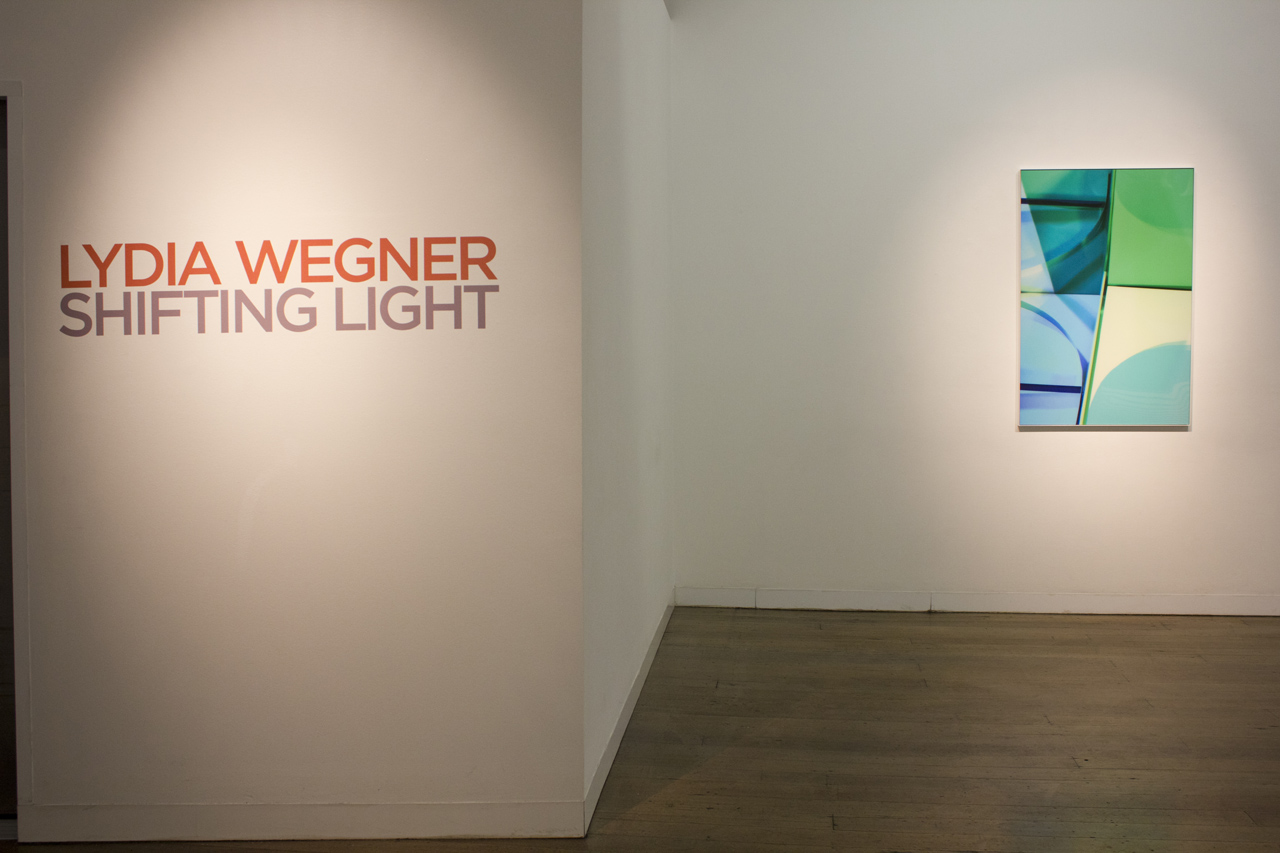 LYDIA WEGNER   Shifting Light  Install View 2019
