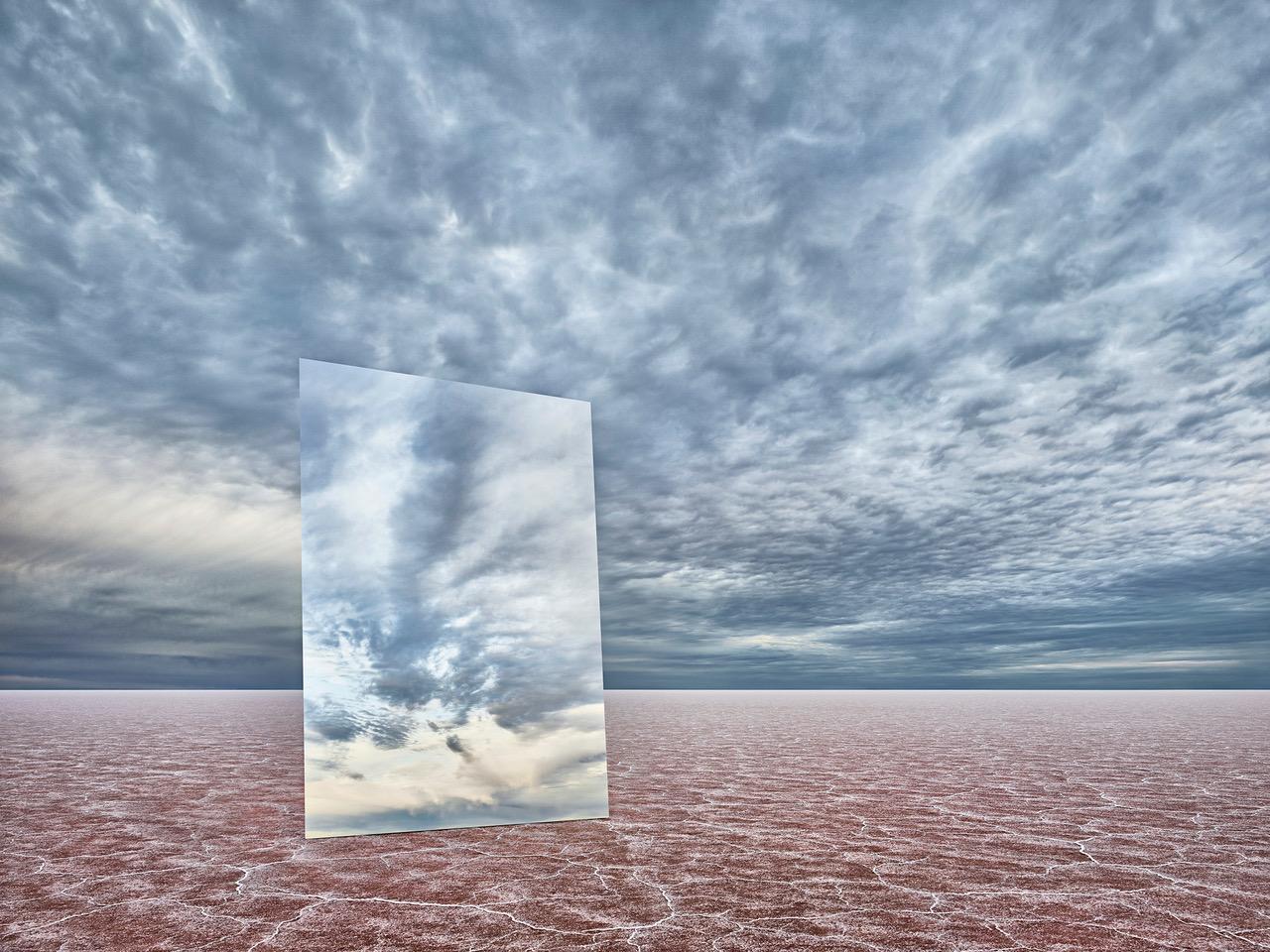 MURRAY FREDERICKS   Mirror 32  2019 Digital pigment print on cotton rag 120 x 160 cm
