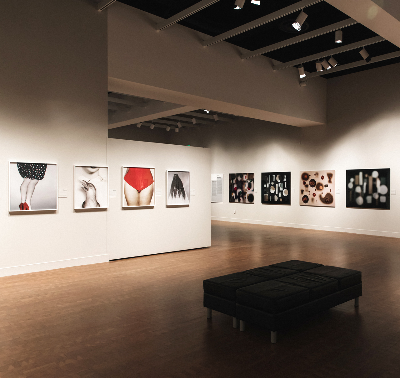 Defining Place/Space: Contemporary Photography from Australia, installation view, Museum of Photographic Arts, San Diego, 2019. Courtesy of the Museum of Photographic Arts, San Diego.