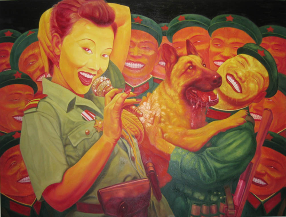 Guo Jian, 'The Day Before I Went Away' ,  2004, oil on canvas, 213 x 152 cm
