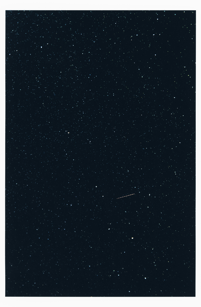 SAM SHMITH   Untitled (navigation lights, stars / 13 seconds)  2019 Pigment print on paper Sheet: 229.6 x 150.5 cm