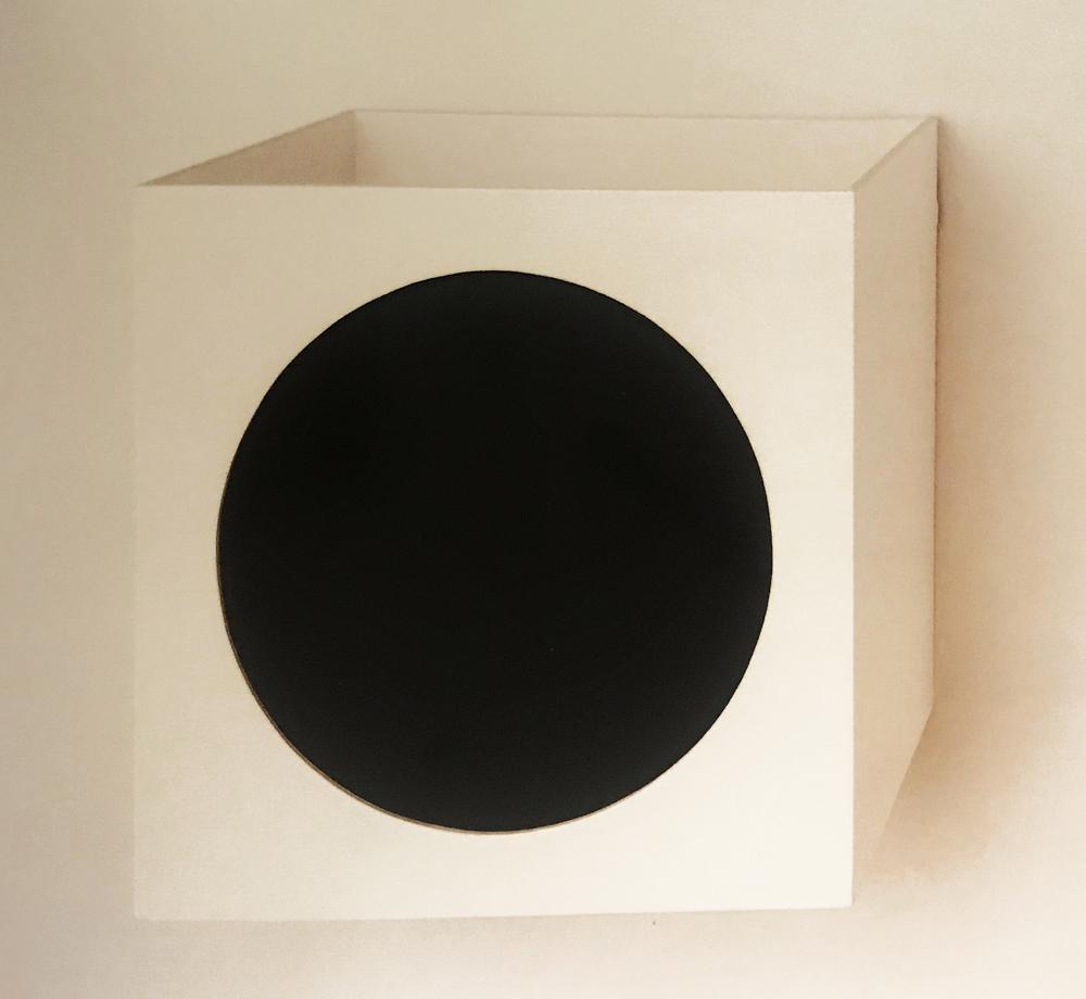 Jacky Redgate,  Untitled , 1991, cardboard, paper, 27 x 27 x 27 cm