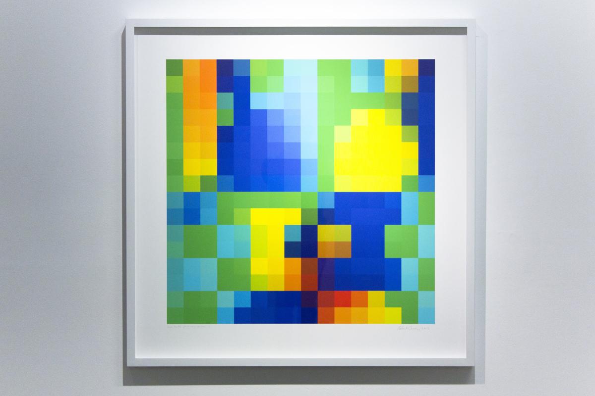 ROBERT OWEN   Various Rays #1  2014-2016 Inkjet print on 310gsm 80 x 80 cm