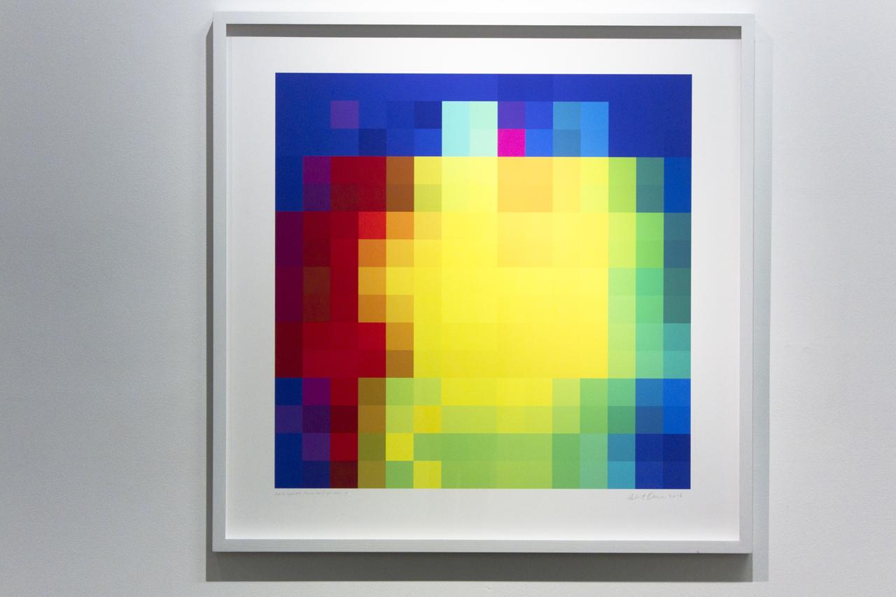 ROBERT OWEN   Inside the Crystal #40  2014-2016 Inkjet print on 310gsm 80 x 80 cm