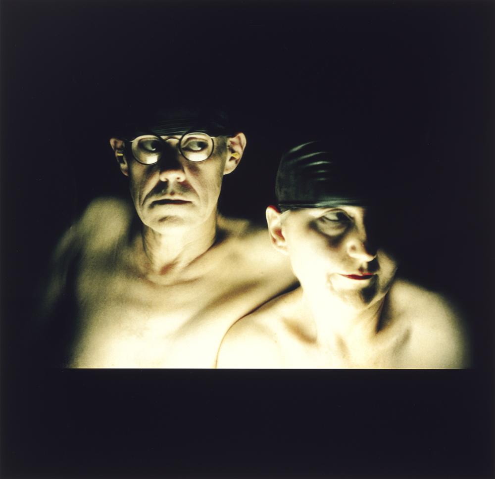 ROSE FARRELL & GEORGE PARKIN   Sel Portrait #2  2003 Type C Colour photograph 60 x 75 cm