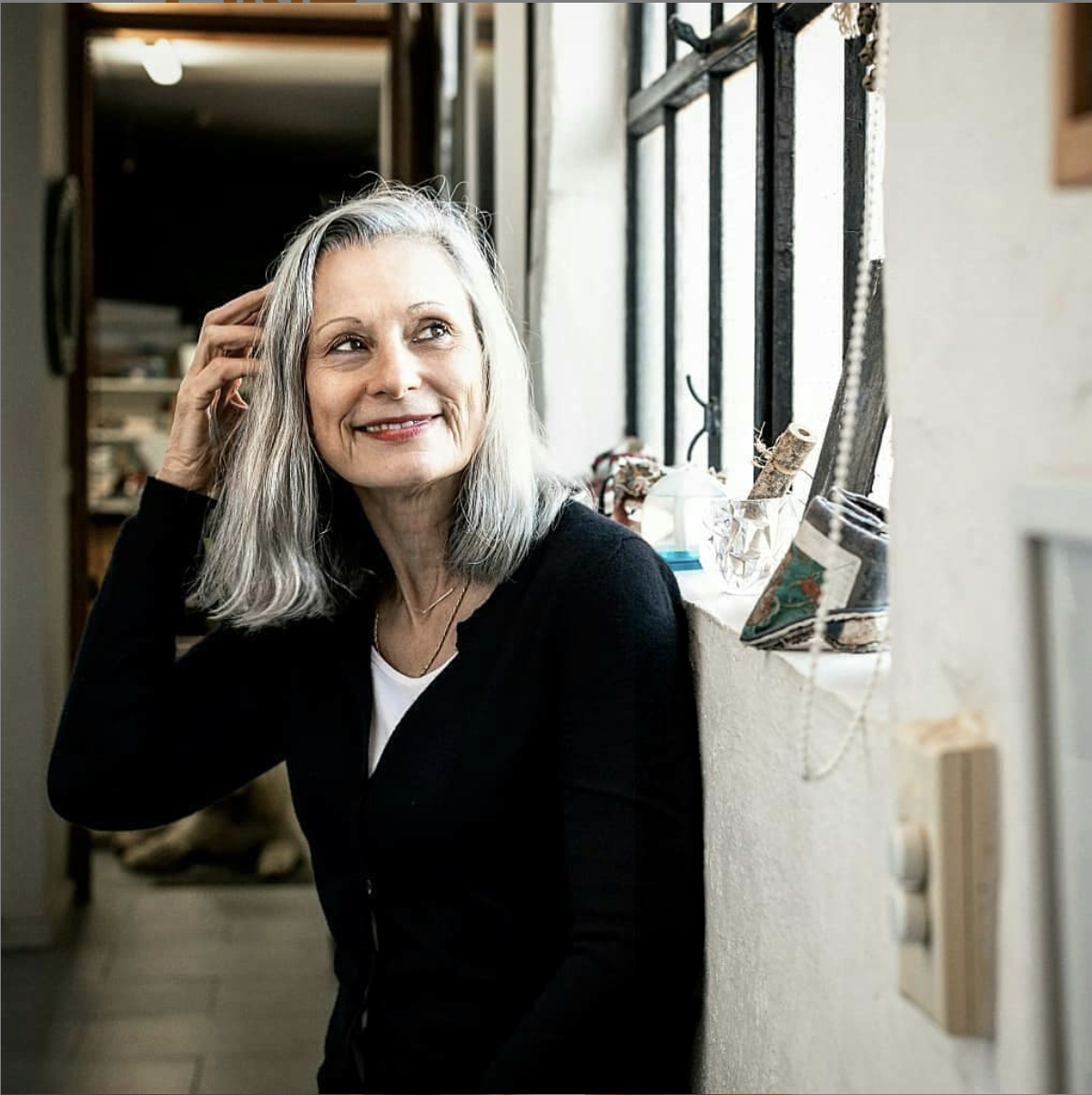 Julie Rrap in her Sydney studio. Photo: Jacquie Manning.