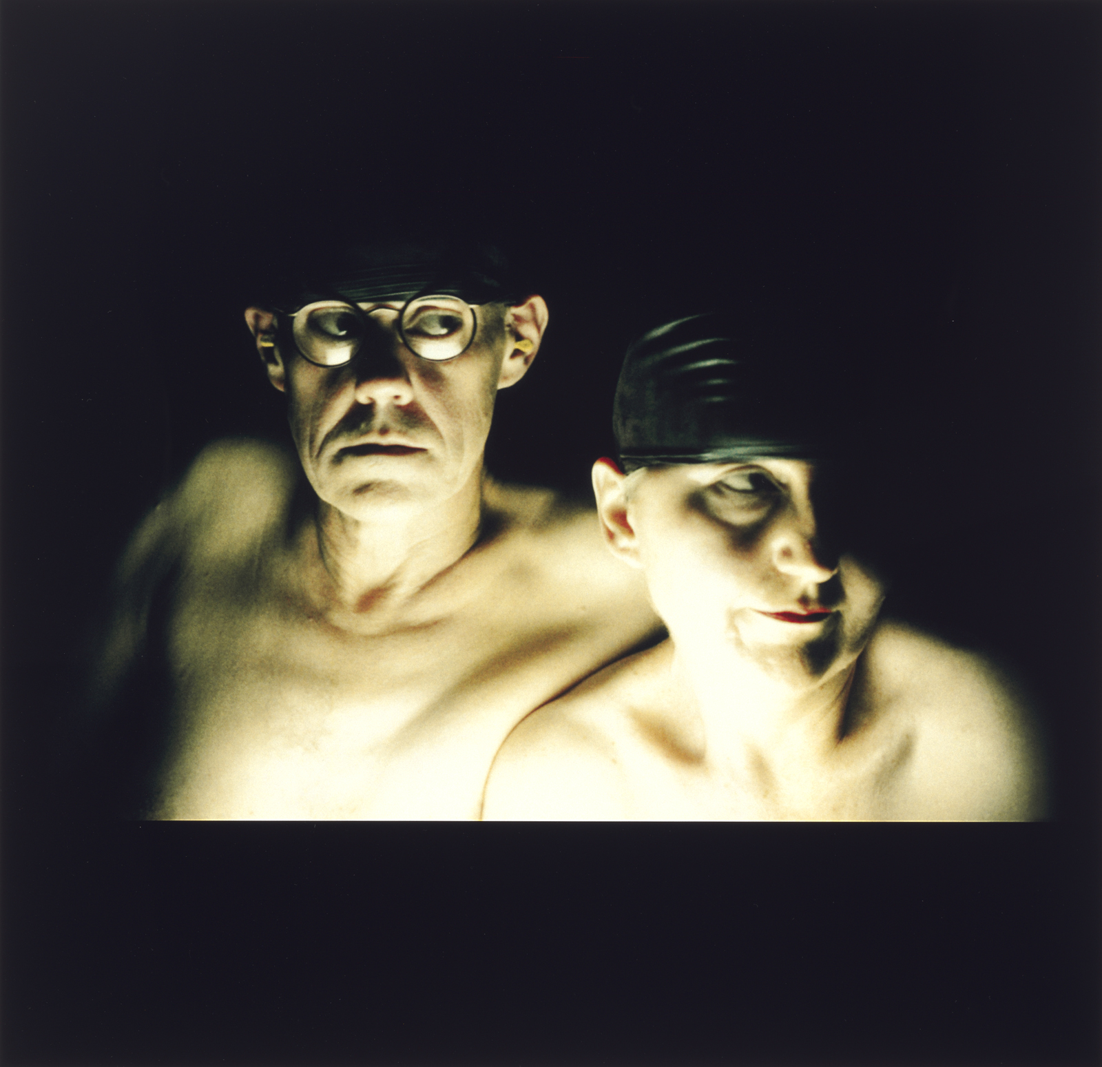 Farrell & Parkin,  Self Portrait #2  from the series  Self Portraits,  2003, Type C Colour photograph, 73 x 76 cm.