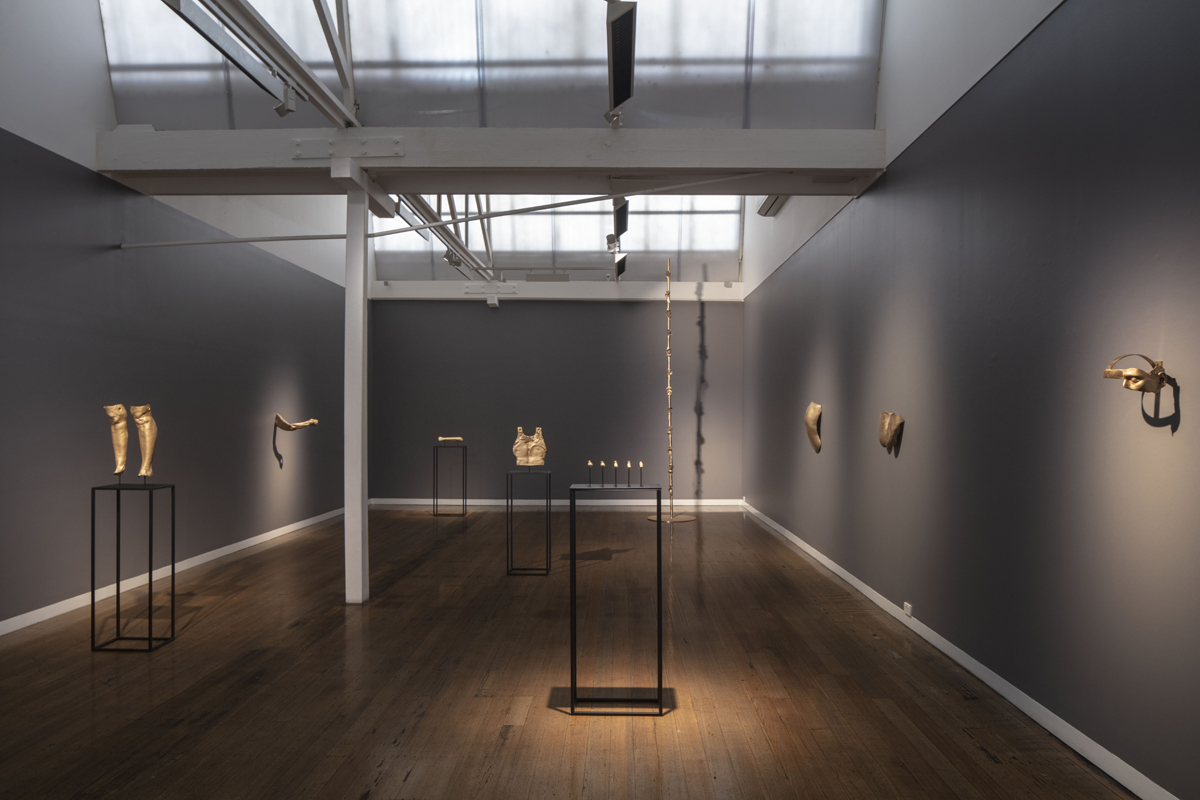 JULIE RRAP  Twisted Logic,  2019 Installation view Photograph by John Gollings