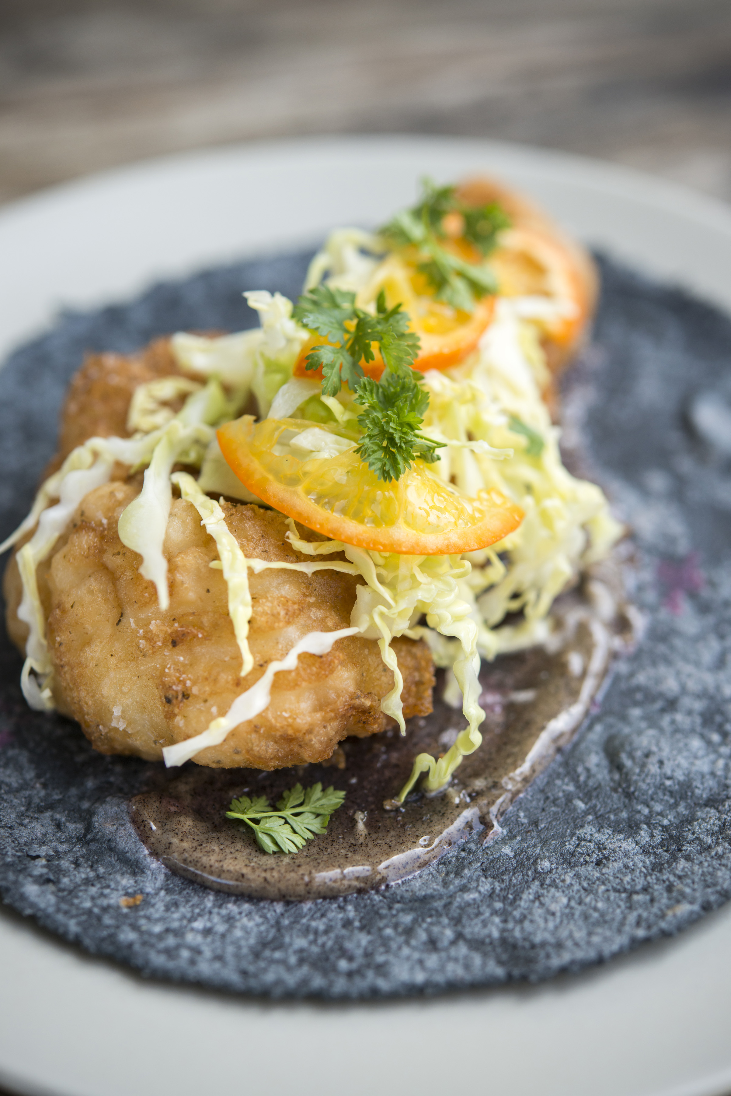 A la Carte - Pescado Frito Taco