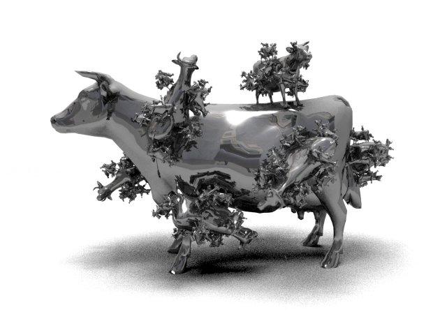 Fractal Cow