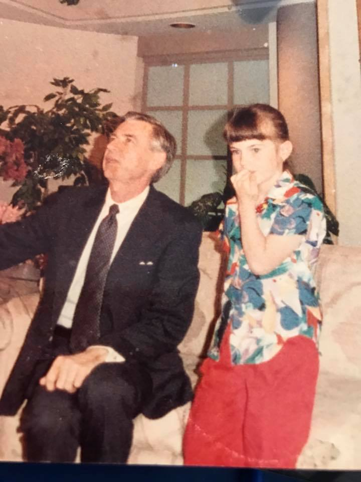 Me and Mr. Rogers on Good Company with Steven and Sharon - May 1987