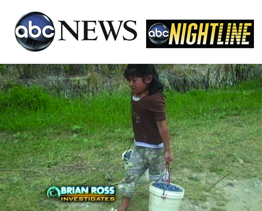 """The Blueberry Children""   as aired on  ABC News '  Nightline  on October 30, 2009 (click through to view)"
