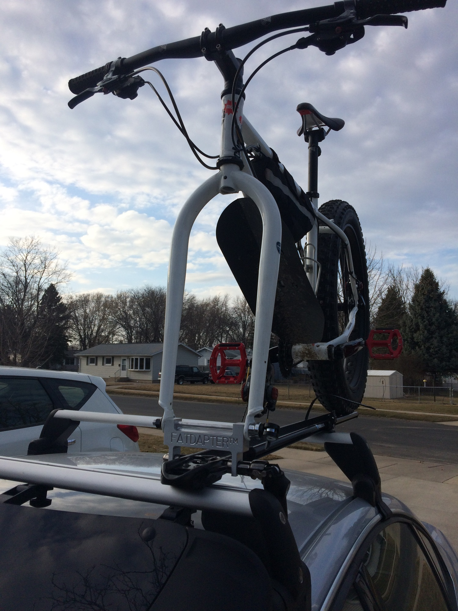 fatbike roof rack adapter