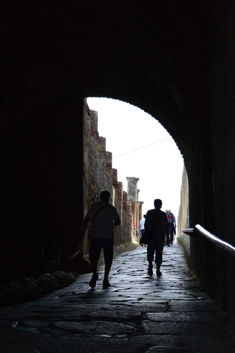 Entrance to Pompeii