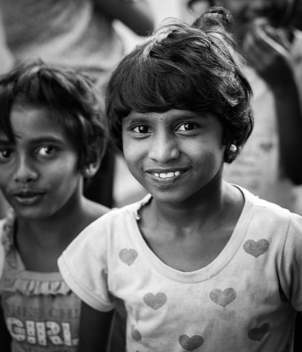 Smiling Sri Lankan Child