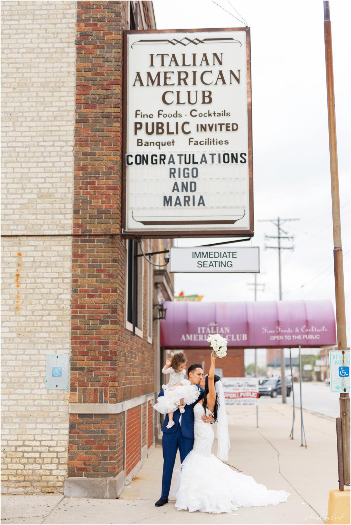 Italian American Society Wedding in Kenosha Wisconsin, Kenosha Wisconsin Wedding Photographer, Chicago Wedding Photography Kenosha Mexican Italian Wedding_0050.jpg