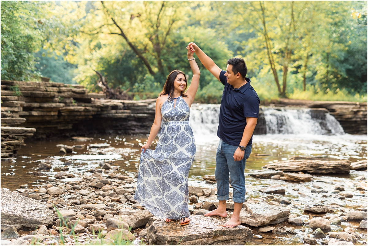 Waterfall Glenn Engagement Session, Lemont Illinois Engagement Session, Chicago Wedding Photographer, Naperville Wedding Photographer, Aurora Wedding Photographer16.jpg