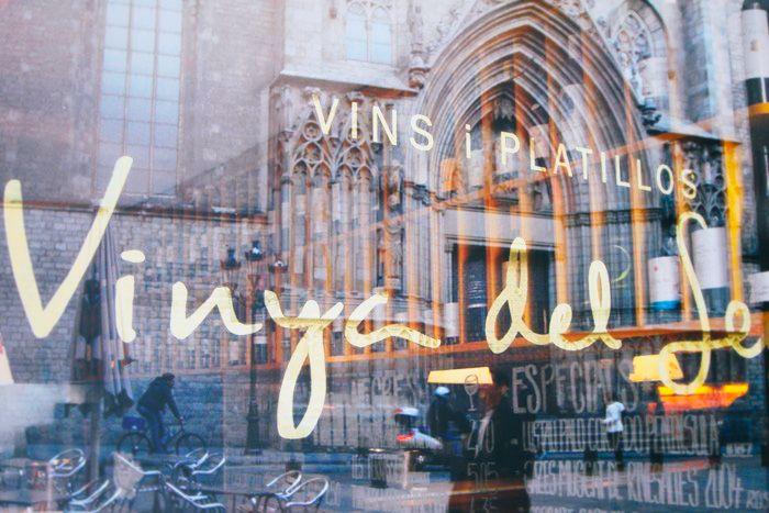 LA VINYA DEL SENYOR   Genuine winery & tapas in front of the Santa María del Mar Church -  El Born