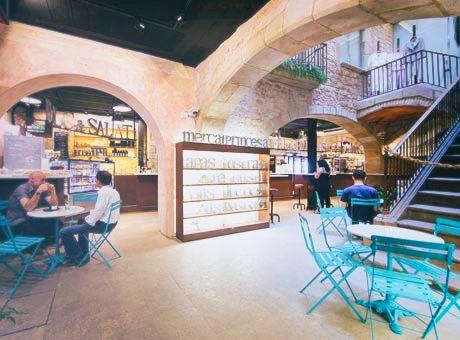 MERCAT PRINCESA   Fresh food. Unique Catalan vault place -  El Born