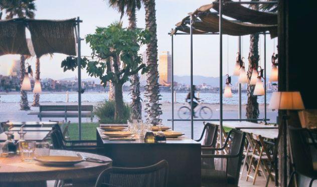 CHIRINGUITO PEZ VELA   Chic & gourmet restaurant next to the W Hotel   Barceloneta Beach