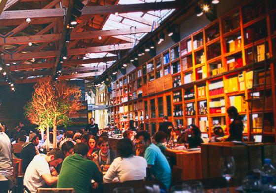 CUINES SANTA CATERINA   The very mythical cuisines of the Santa Maria market -  El Born