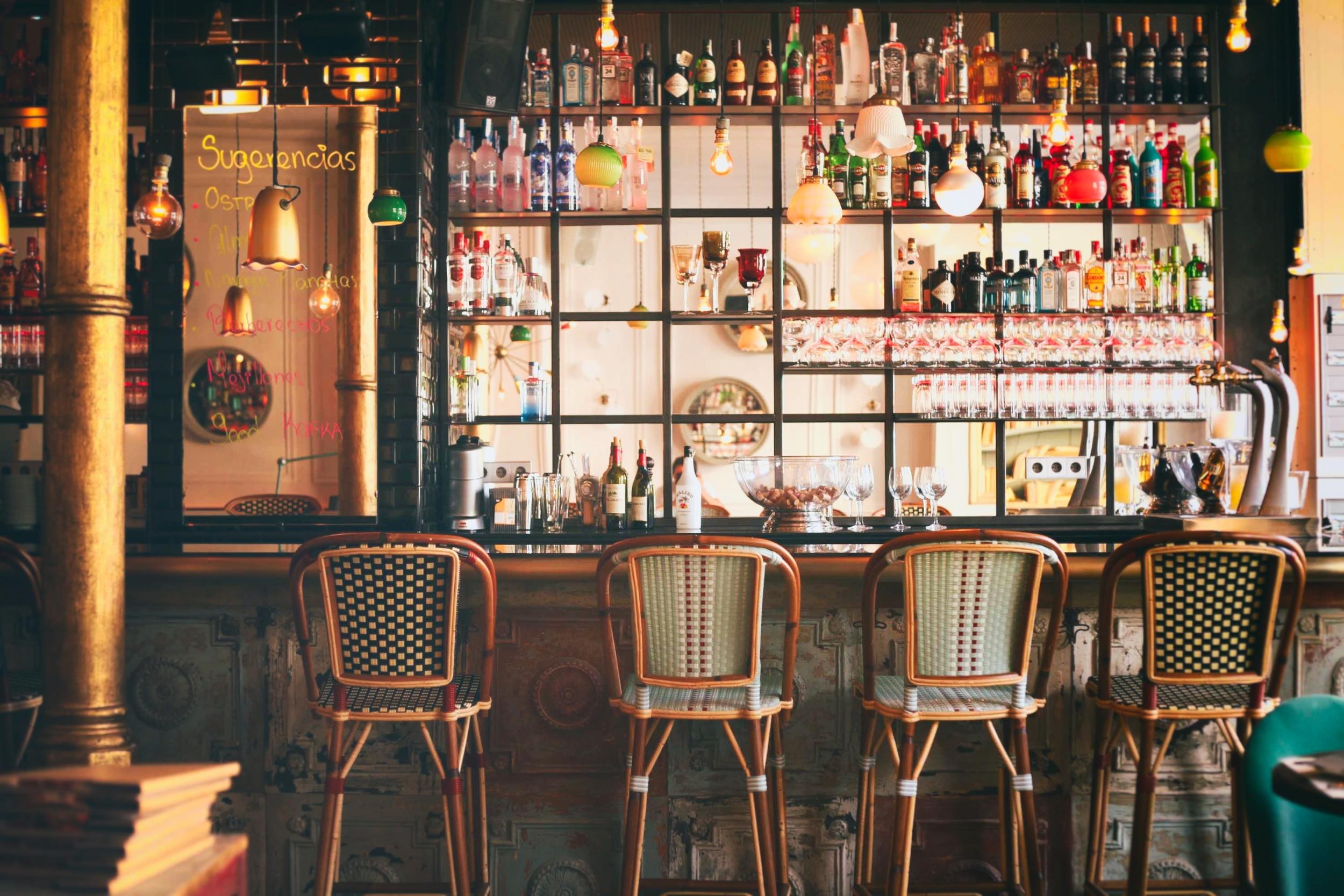 CAFE KAFKA   Unique design, bar & market cuisine -  El Born
