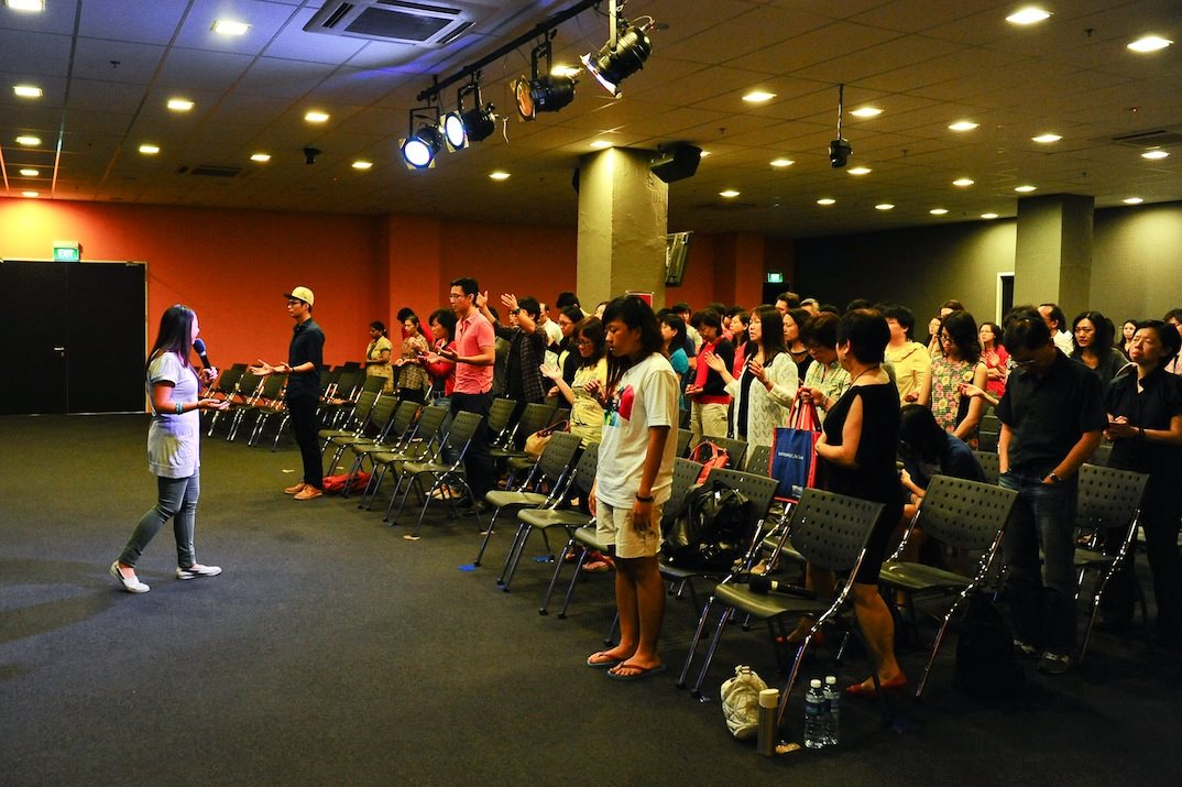 Lion Building - July 2013 was when we relocated to Lion Building back in MacPherson.Here, the Lord taught us about being a forerunner like John the Baptist, eating the scroll and making Jesus our magnificent obsession.