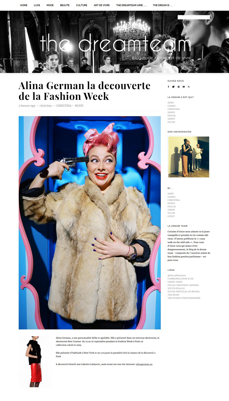 THE DREAM TEAM __ __ Alina German la decouverte de la Fashion Week.jpg